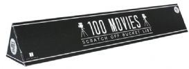 100 Movies Bucket List - Scratch off Poster ONLY | Sweet and Nostalgic